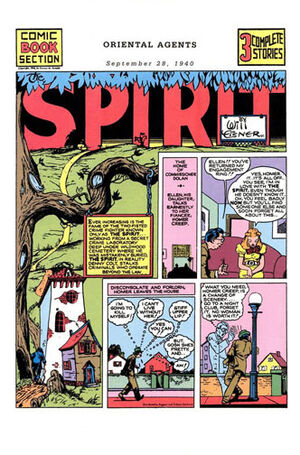 Cover for Spirit Newspaper Strip #18