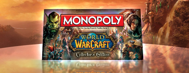 Monopoly-World of Warcraft-Collector&#39;s Edition