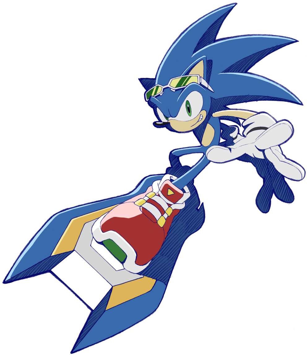 Silver the hedgehog sonic riders zero gravity