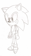 Sonic the Hedgehog Sketch