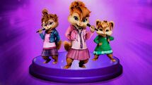 The Chipettes Wallpaper