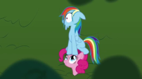 202px-Pinkie Pie Rainbow Dash cartoon chase S1E05