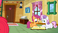 Scootaloo &amp; Sweetie Belle searching answer S2E17