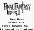 Final fantasy legend iii title screen