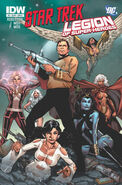 Star Trek Legion of Super-Heroes Vol 1 5