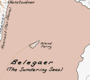 Belegaer map