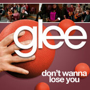 Glee - dont wanna lose you