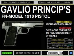 Gavlio Princip&#39;s Pistol
