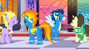 Soarin' and Spitfire at the gala S1E26