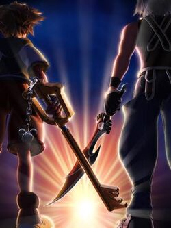 KH3D Sora and Riku