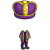 Mardi Gras King Costume-icon
