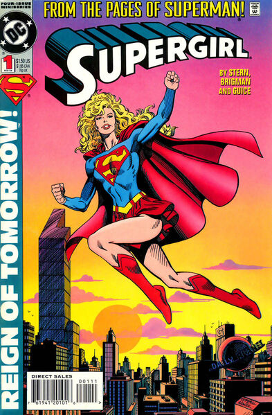 COLECCIÓN DEFINITIVA: SUPERMAN [UL] [cbr] 393px-Supergirl_1994_01