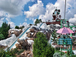 Blizzard Beach slide