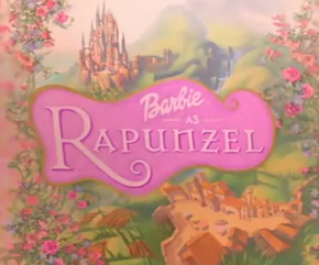 Barbie as Rapunzel title
