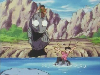 Brock&#39;s Onix scared