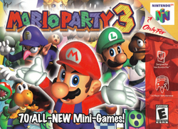 Mario Party 3 - North American boxart