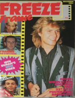 1 Freeze Frame December 1984 Duran Duran MAGAZINE WIKIPEDIA