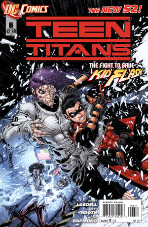 Cover for Teen Titans #6