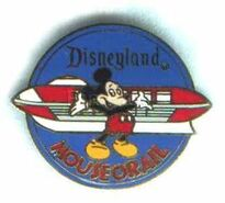 Mouseorail Pin