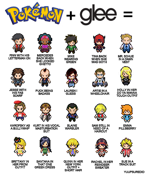Glee-meets-pokemon