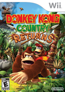 Donkey Kong Country Returns - NA Boxart