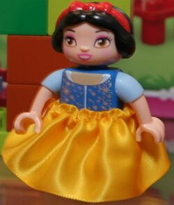 Snow white duplo