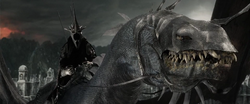 Witch King on fell beast