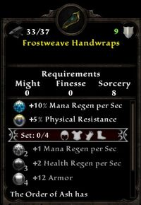 Frostweave Handwraps