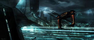 Dylan Cole Tron Concept Art 08a