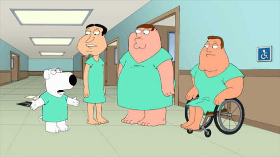 Family Guy Season 10 Episode 17 Forget-Me-Not