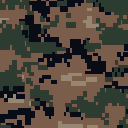 Weapon camo marine