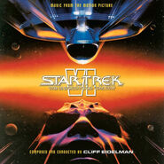 Star Trek VI expanded soundtrack reverse front cover