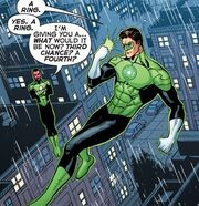 Hal gets a power ring