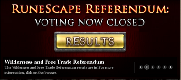 Wildy Referendum Results Banner