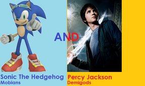 Sonic the Hedgehog and Percy Jackson
