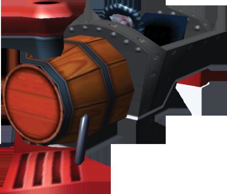 File:Barrel Train Artwork - Mario Kart 7.png