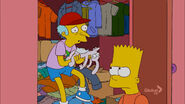 Bart and burns