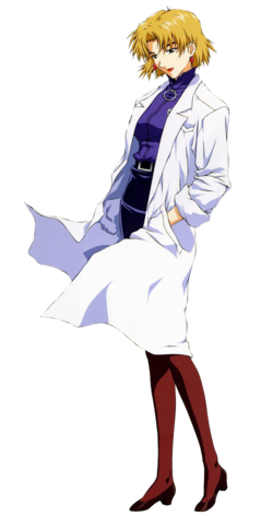 Ritsuko Akagi (Lab Coat)