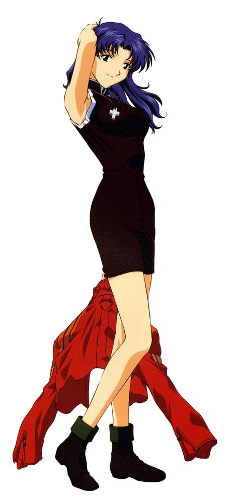 Personality ... MBTI Enneagram Misato Katsuragi ( Neon Genesis Evangelion ) ... loading picture