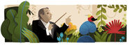 Google Heitor Vila Lobos' 125th Birthday