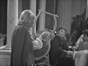 Doctor rocks the lyre The Romans