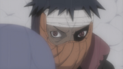 Tobi&#39;s left Sharingan