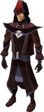 Dark mystic robes set