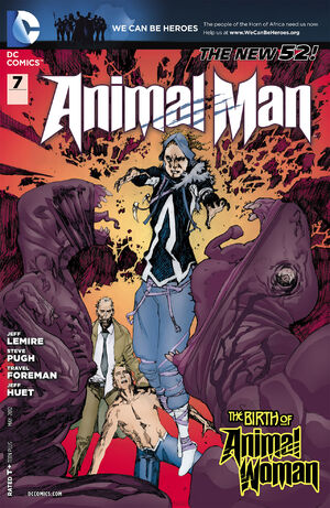 Cover for Animal Man #7