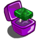 Lighthouse Cove Platinum Emerald Unwither Ring-icon