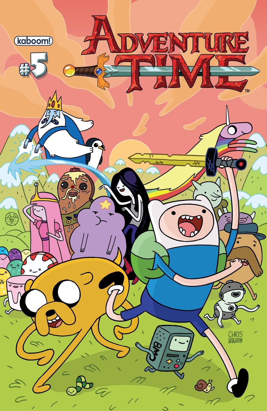 Hora de aventura comic