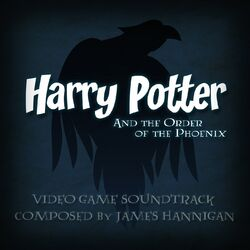 Cartula de la banda sonora del videojuego de Harry Potter y la Orden del Fnix