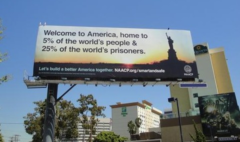 USA. 25% of world&#39;s prisoners 2