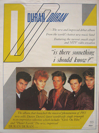 Advert duran duran wikipedia