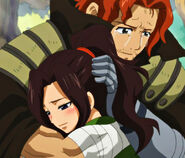 Gildarts hugs Cana (Close Up)